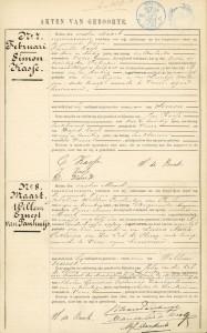 Willem Ernest van Panhuys Veere 1 maart 1900