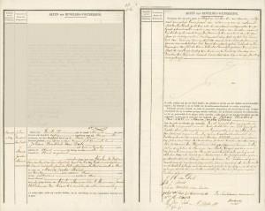Johan Hendrik van Dale & Maria Jacoba Moens Sluis 14-11-1850
