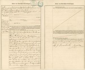 Henri Ferdinand van Renterghem & Maria Janna Overbeeke Goes 21 september 1891