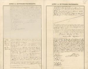 Gerard Abraham de Hond & Pieternella Heijboer Sint Annaland 30 september 1909