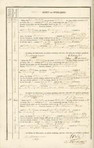Sara Janse Geldof Middelburg 24 september 1838
